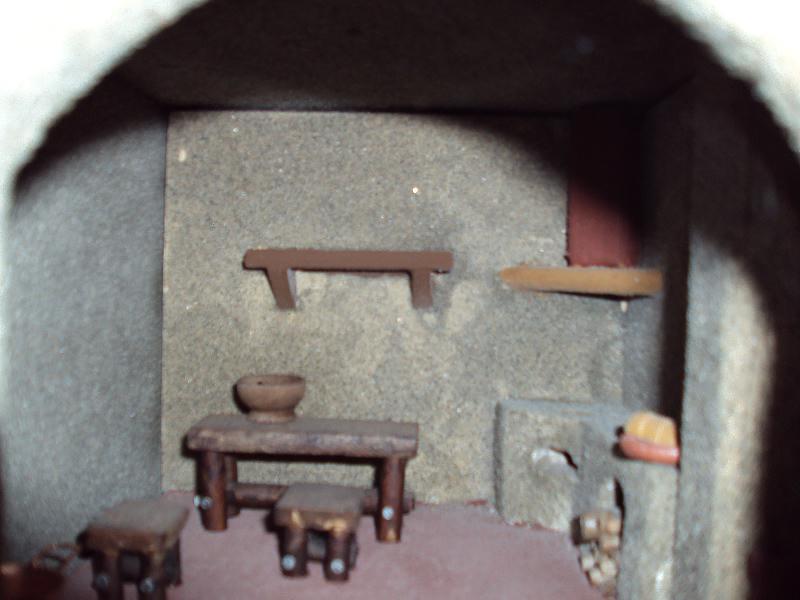Il presepe di massimo bertocci presepe 2009 interno casa for Interno di una casa